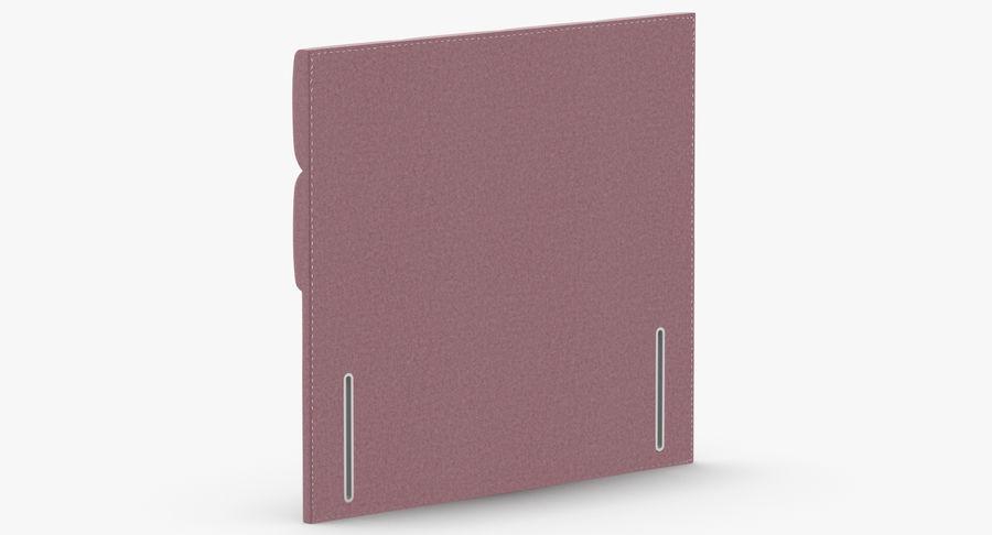Headboard 03 Blush royalty-free 3d model - Preview no. 6