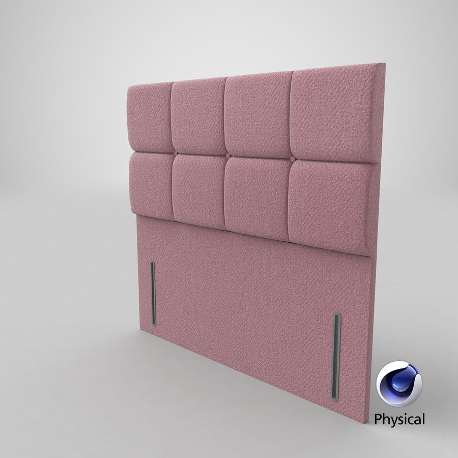 Headboard 03 Blush royalty-free 3d model - Preview no. 22