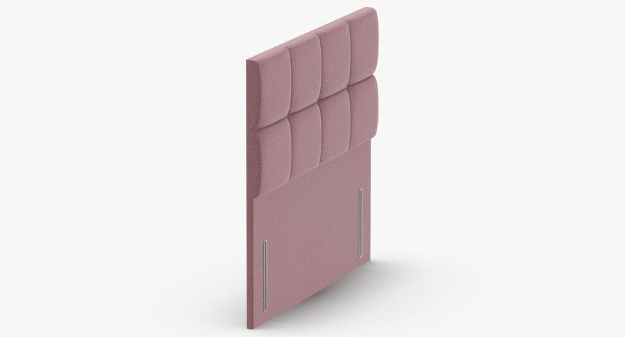 Headboard 03 Blush royalty-free 3d model - Preview no. 4