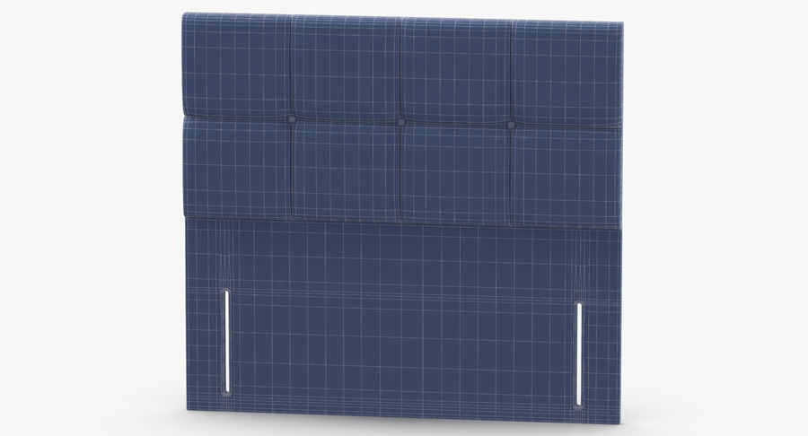 Headboard 03 Blush royalty-free 3d model - Preview no. 13