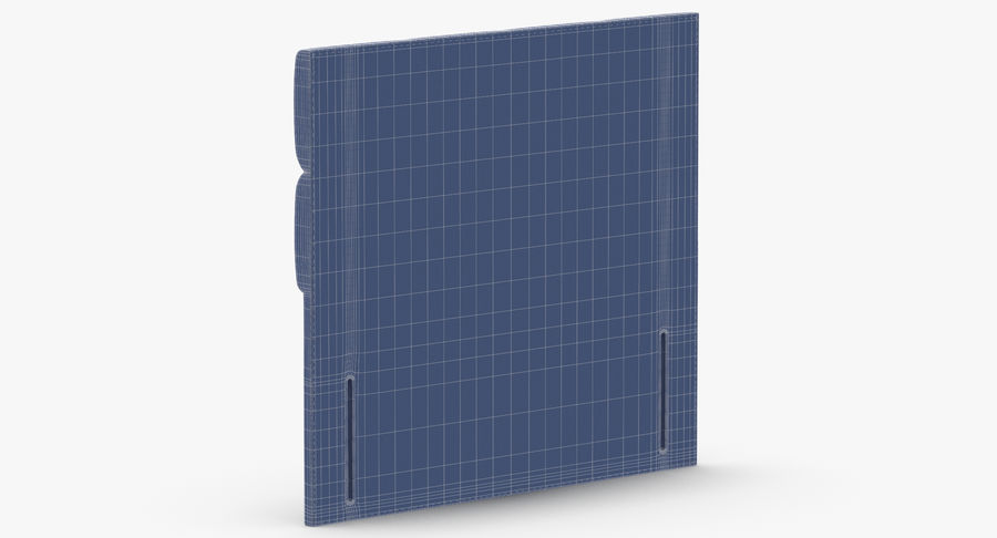 Headboard 03 Blush royalty-free 3d model - Preview no. 14