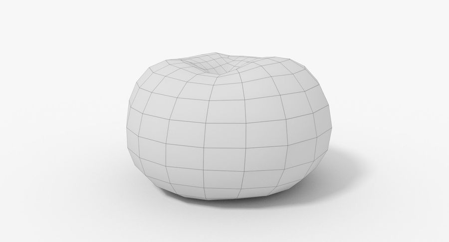 Peach 02 Lowpoly royalty-free 3d model - Preview no. 17