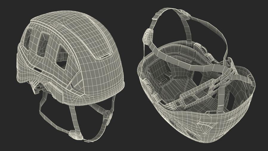 Petzl Strato Vent Hi-Viz Helmet royalty-free 3d model - Preview no. 17