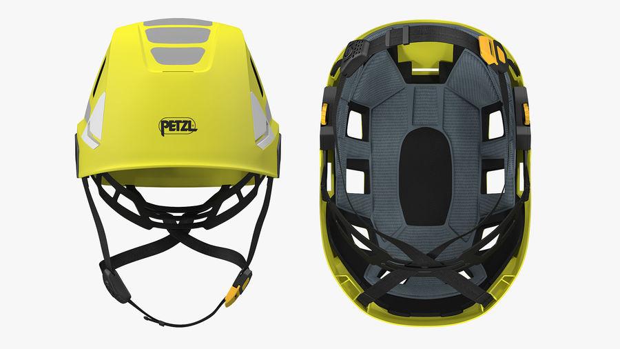 Petzl Strato Vent Hi-Viz Helmet royalty-free 3d model - Preview no. 4