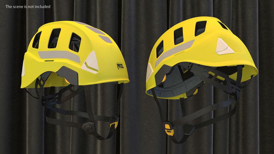 Petzl Strato Vent Hi-Viz Helmet royalty-free 3d model - Preview no. 2