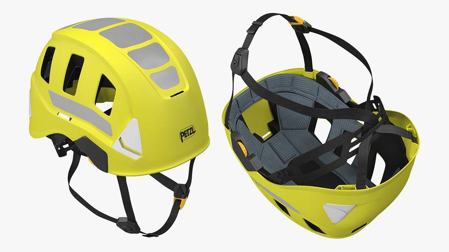 Petzl Strato Vent Hi-Viz Helmet royalty-free 3d model - Preview no. 3