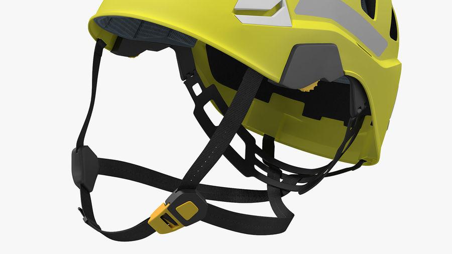 Petzl Strato Vent Hi-Viz Helmet royalty-free 3d model - Preview no. 6