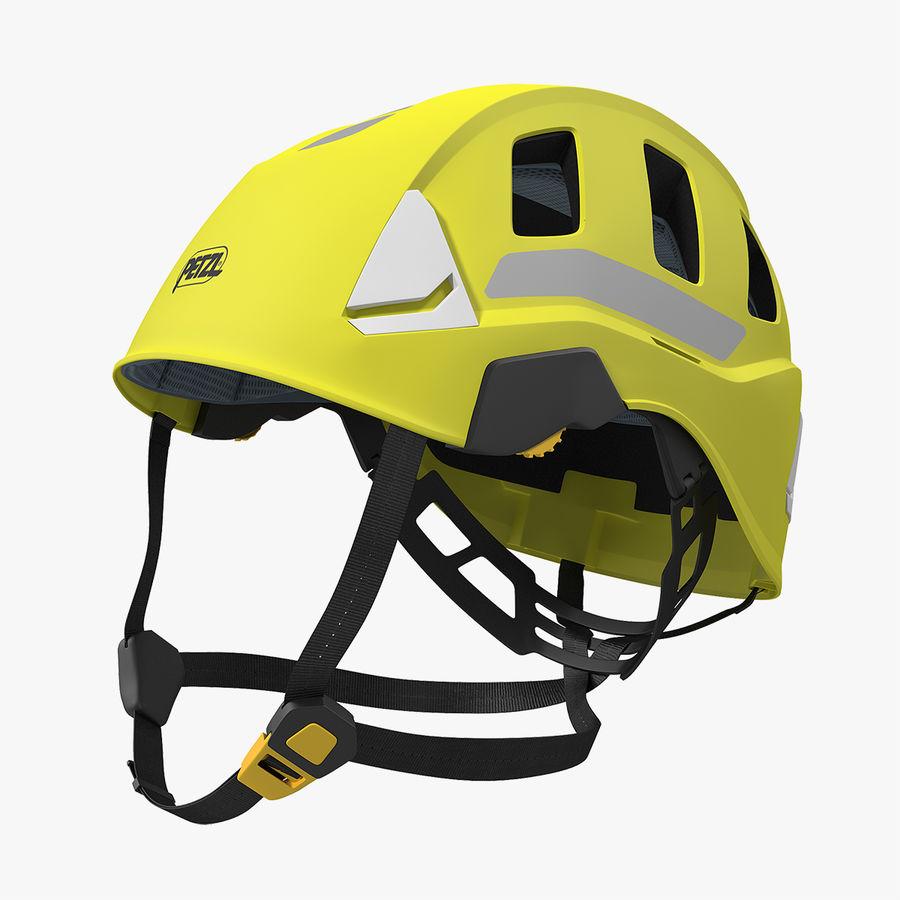 Petzl Strato Vent Hi-Viz Helmet royalty-free 3d model - Preview no. 1