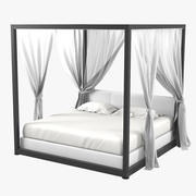 Vivaldichienti Canopy Bed 3d model