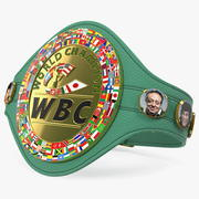 WBC Champion Belt 3d model