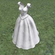 suknia ślubna 3d model
