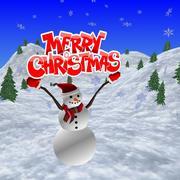 Scène de Noël 3d model