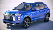 Mitsubishi ASX Outlander Sport 2020 3d model