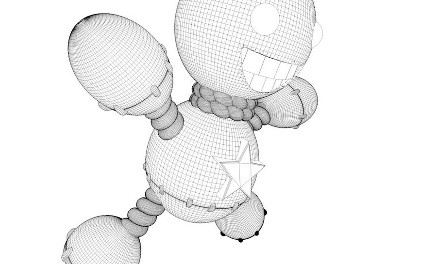 Doll royalty-free 3d model - Preview no. 4