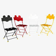 Fermob Bistro Mickey Mouse Chair Set 3d model