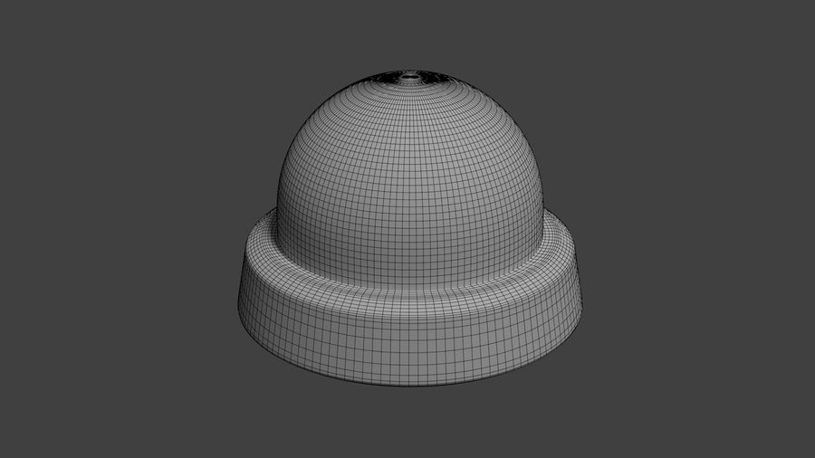 Security camera royalty-free 3d model - Preview no. 17