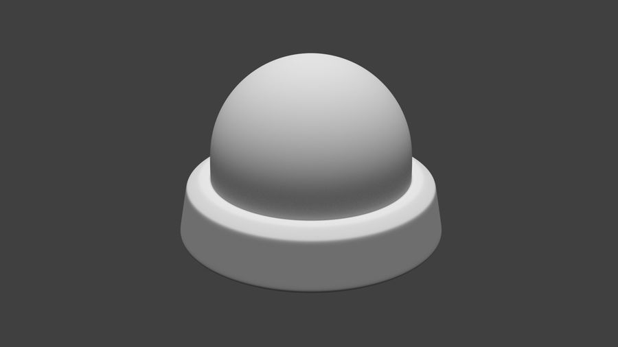 Security camera royalty-free 3d model - Preview no. 15