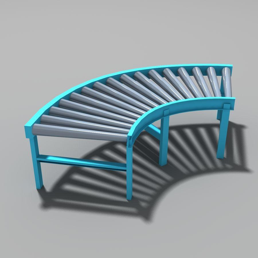 Conveyor stuff royalty-free 3d model - Preview no. 9