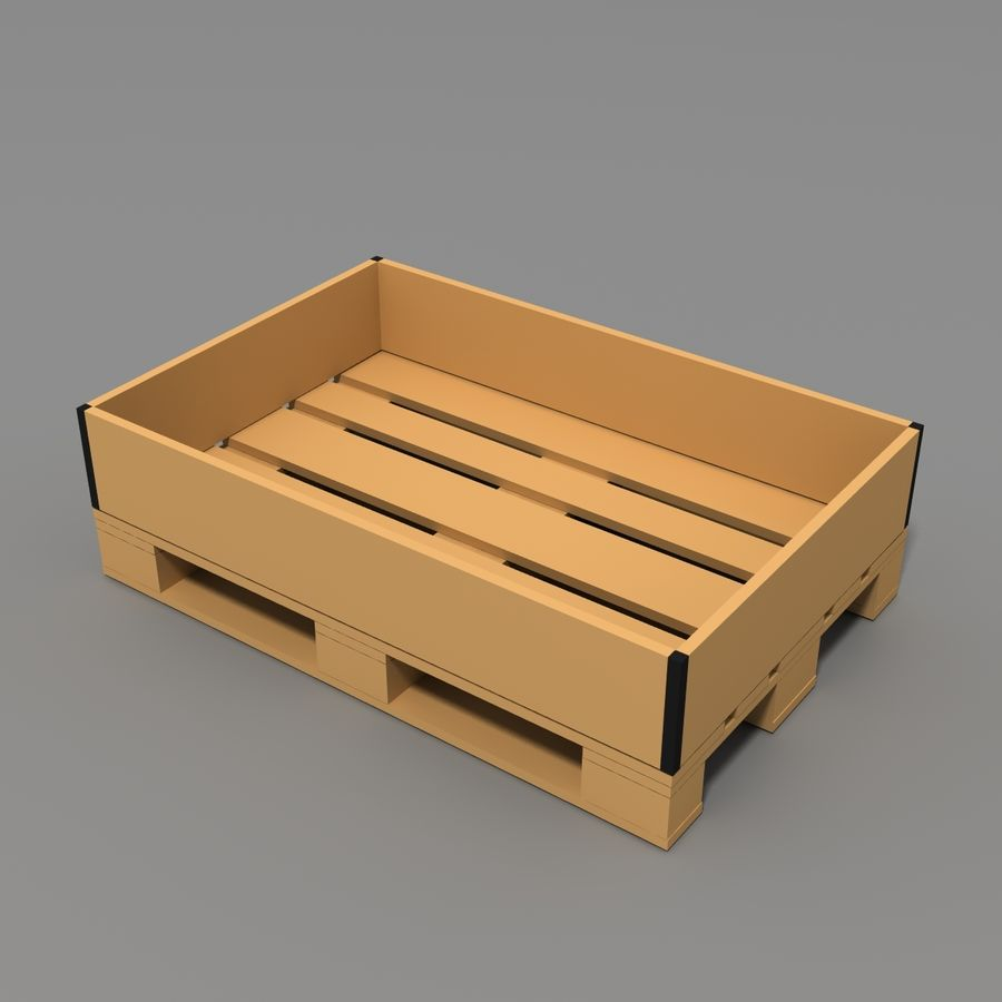 Conveyor stuff royalty-free 3d model - Preview no. 14