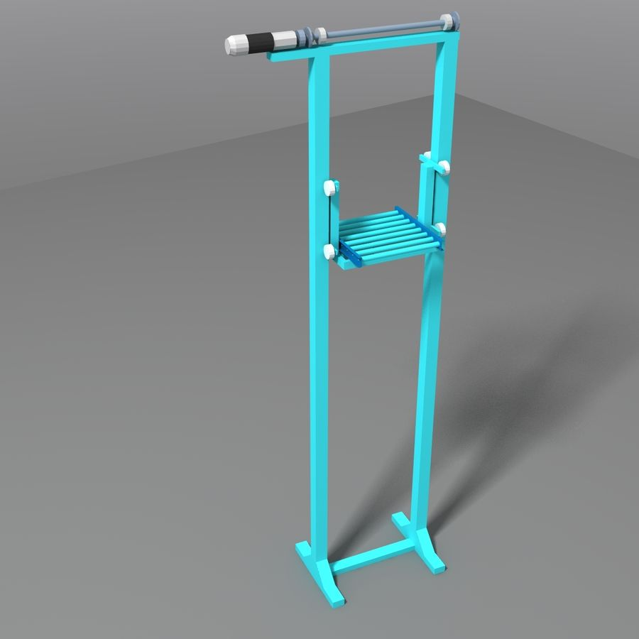 Conveyor stuff royalty-free 3d model - Preview no. 21