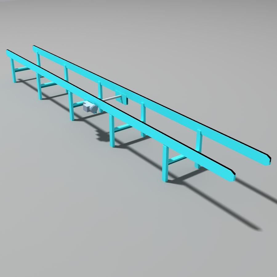 Conveyor stuff royalty-free 3d model - Preview no. 6