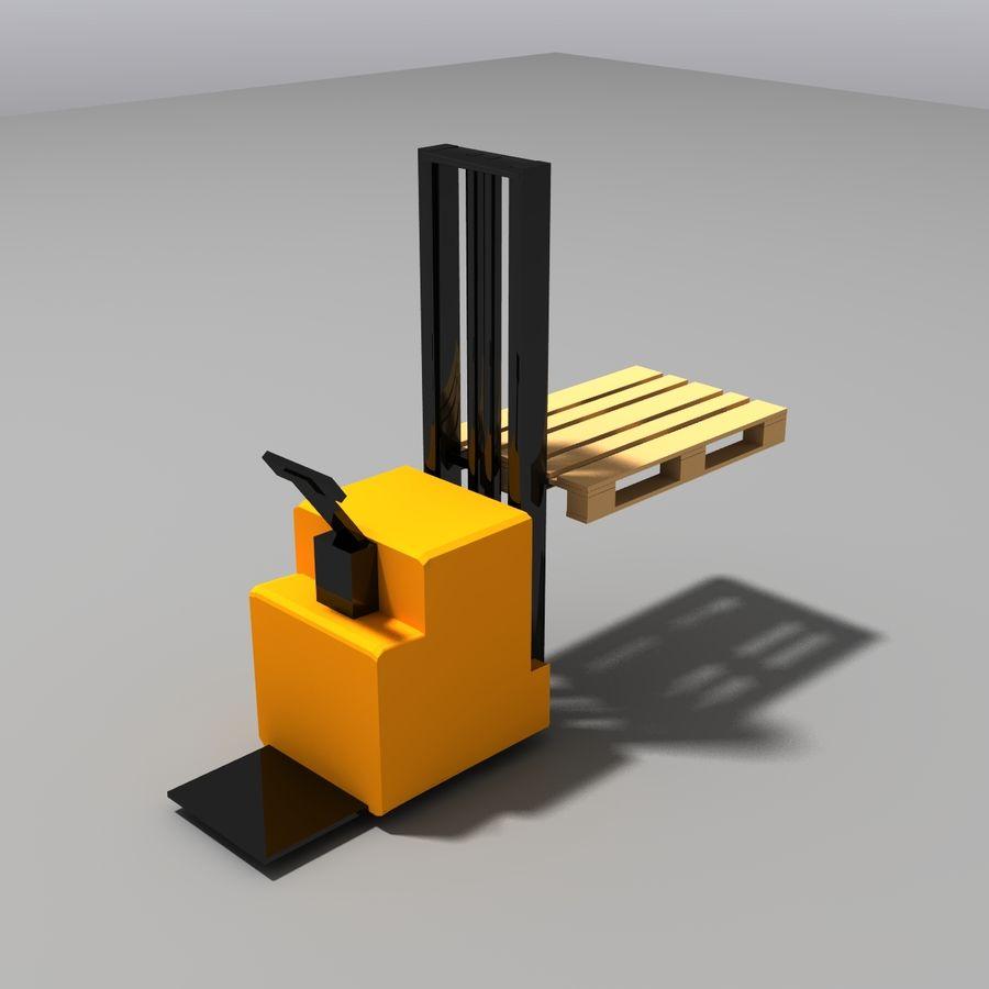 Conveyor stuff royalty-free 3d model - Preview no. 12