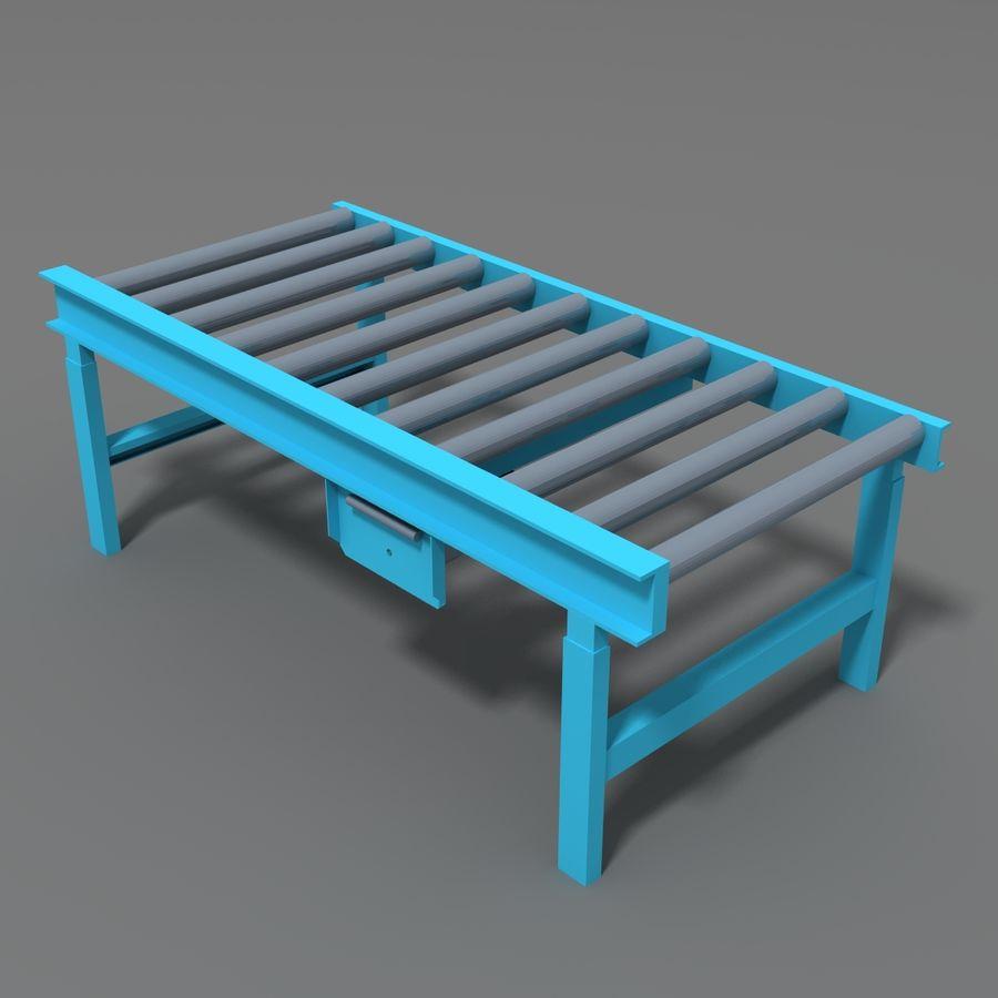 Conveyor stuff royalty-free 3d model - Preview no. 16