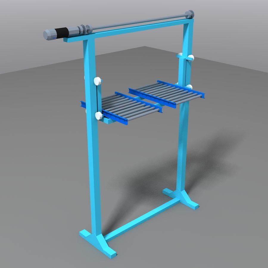 Conveyor stuff royalty-free 3d model - Preview no. 20