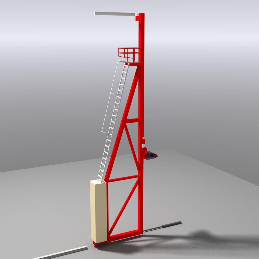 Conveyor stuff royalty-free 3d model - Preview no. 8