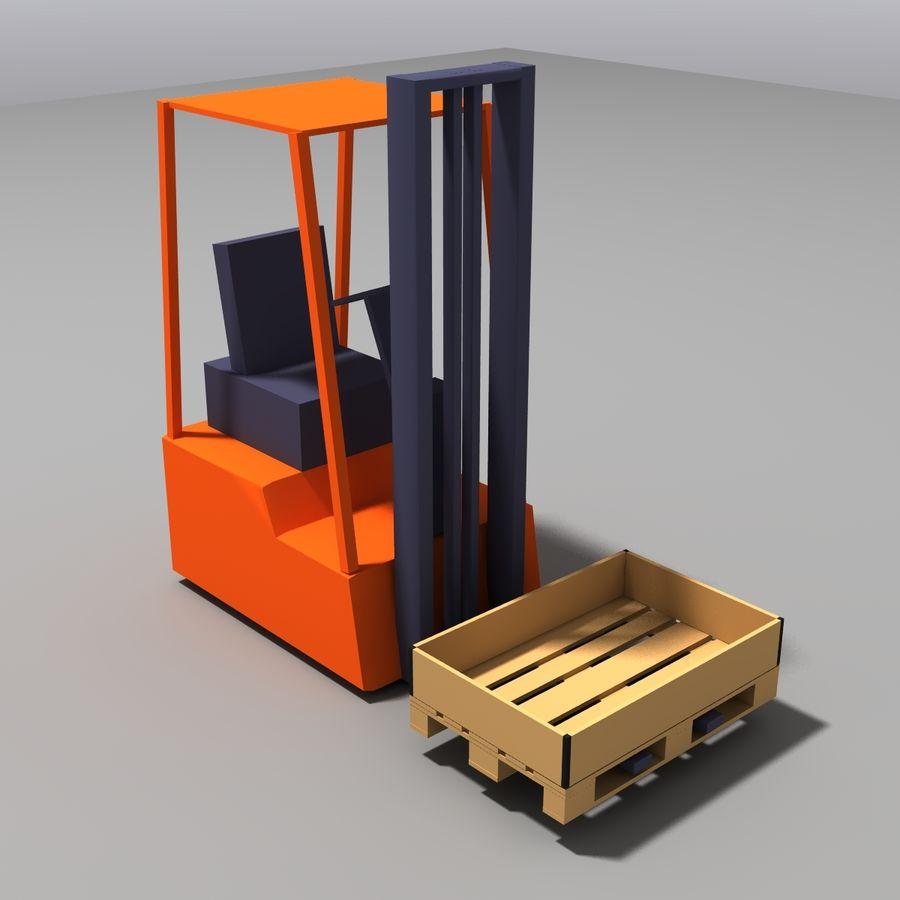 Conveyor stuff royalty-free 3d model - Preview no. 11
