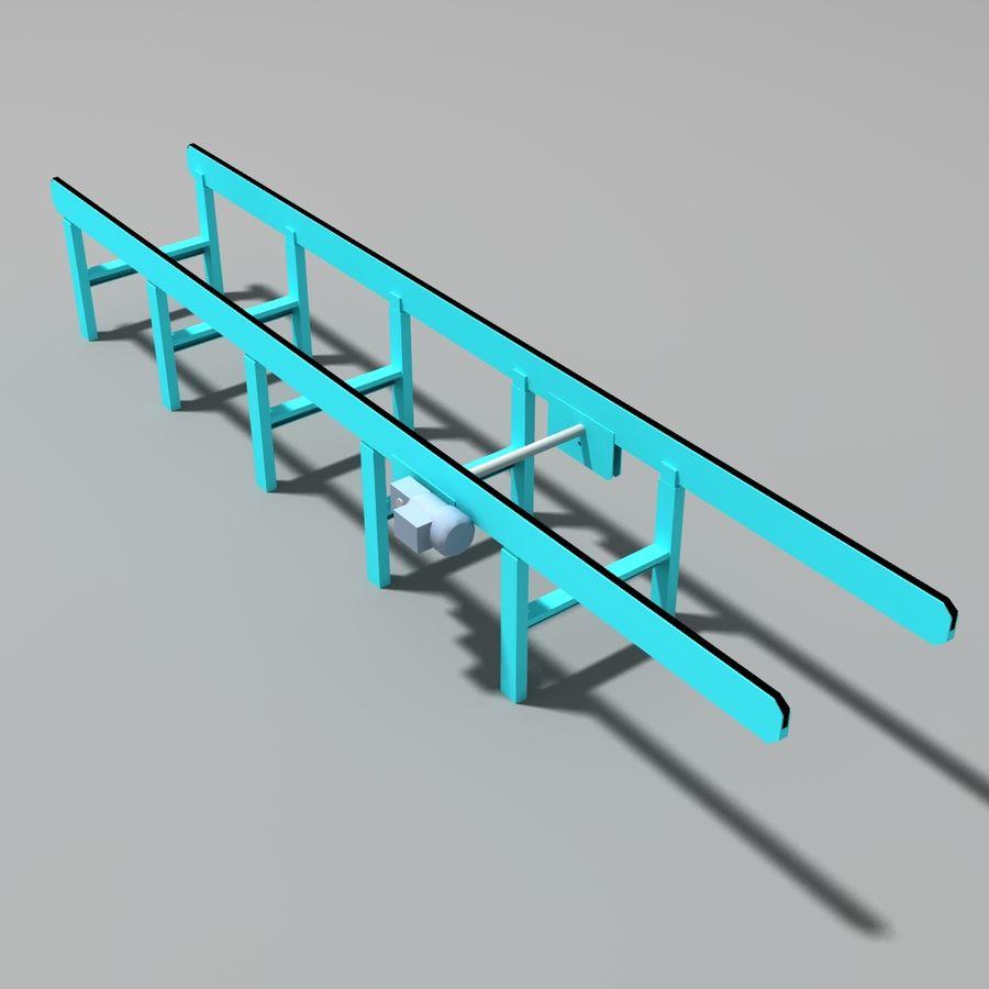 Conveyor stuff royalty-free 3d model - Preview no. 5