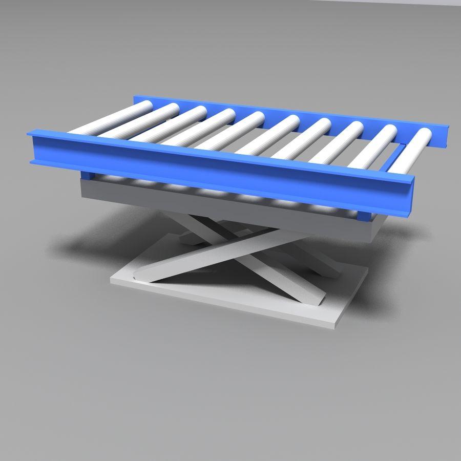 Conveyor stuff royalty-free 3d model - Preview no. 13