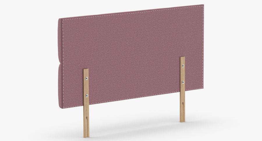 Headboard 09 Blush royalty-free 3d model - Preview no. 6