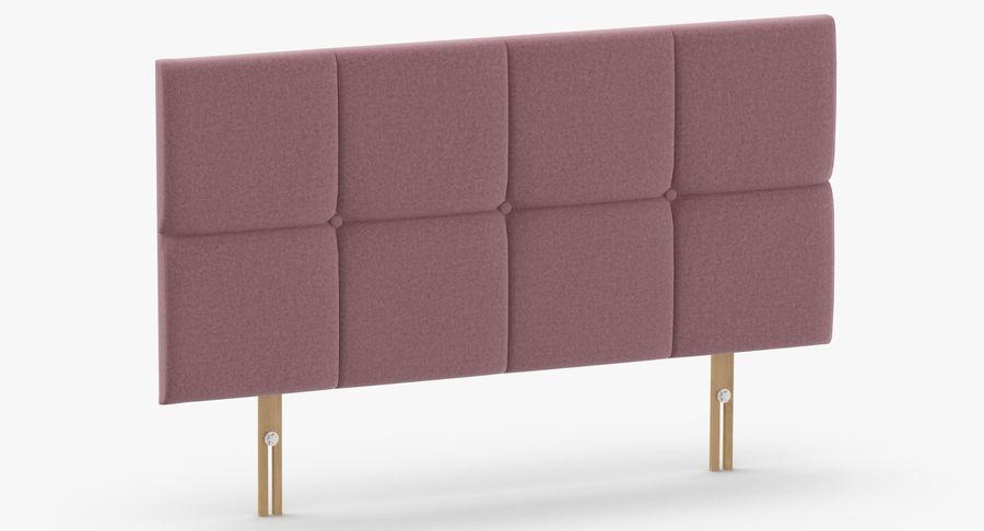 Headboard 09 Blush royalty-free 3d model - Preview no. 3