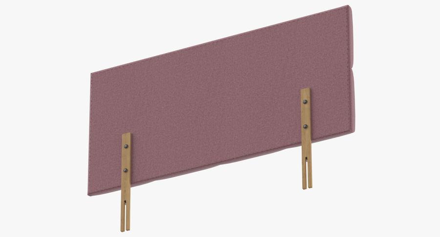 Headboard 09 Blush royalty-free 3d model - Preview no. 8