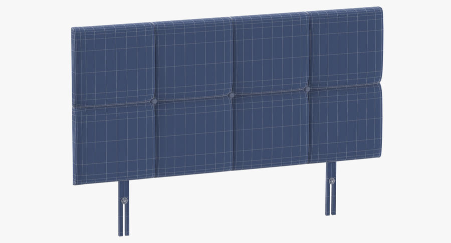 Headboard 09 Blush royalty-free 3d model - Preview no. 10