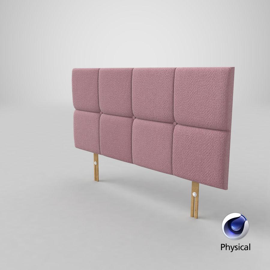 Headboard 09 Blush royalty-free 3d model - Preview no. 21