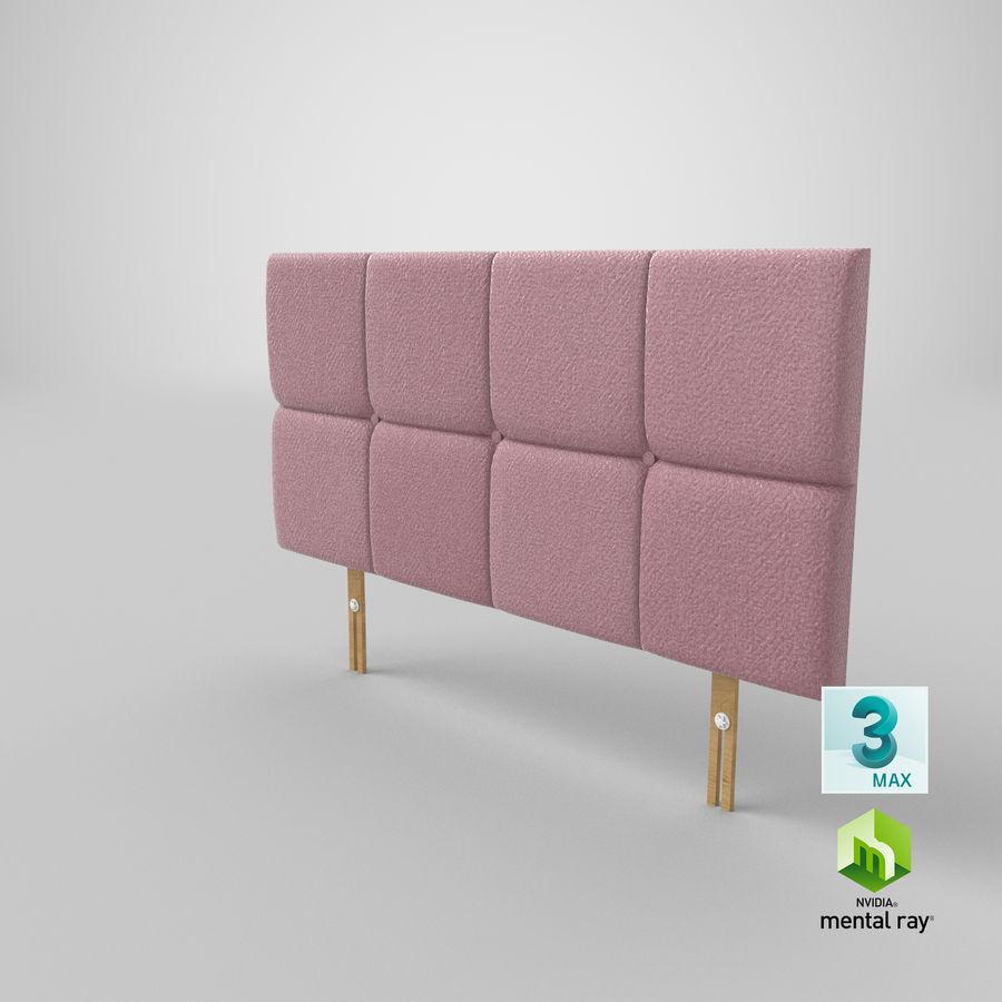 Headboard 09 Blush royalty-free 3d model - Preview no. 24