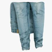 Jeans Blue V3 modelo 3d
