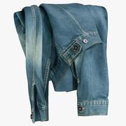 진 재킷 V4 3d model
