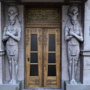 Egyptian front door 3d model