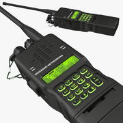 Militaire walkietalkie 3d model