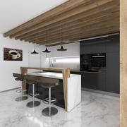 Кухня ZSUKA1 Modern Minimall 3d model