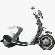 Scooter électrique 3d model