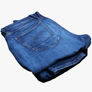 Vêtements 60 Jeans 3d model