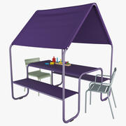 Fermob Picnic Luxembourg Kids 3d model
