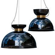 Olsson and Jensen Plafondlamp blauw 3d model