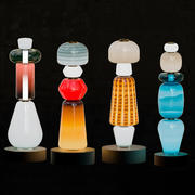 Colorful blown-glass totems by Luca Nichetto 3d model