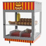 Hot Dog Ekran 3d model