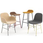 Normann Copenhagen的Form椅子系列 3d model